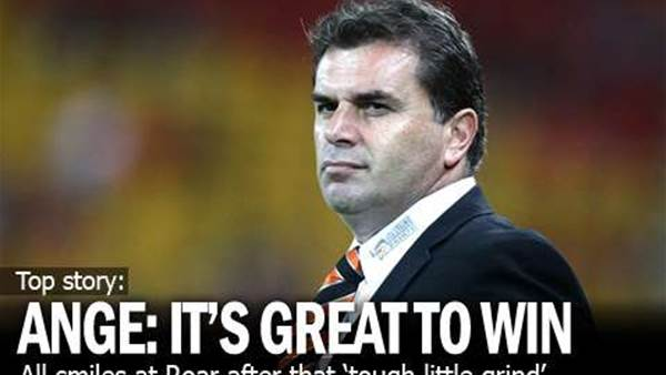 Ange: We Ended The Year As Winners