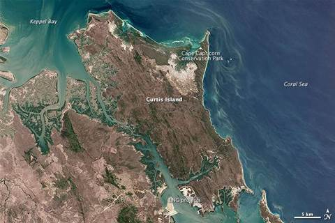 Queensland natural gas project turns to big data