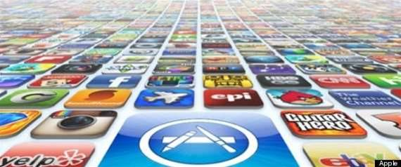 More than $1b apps sold in record month