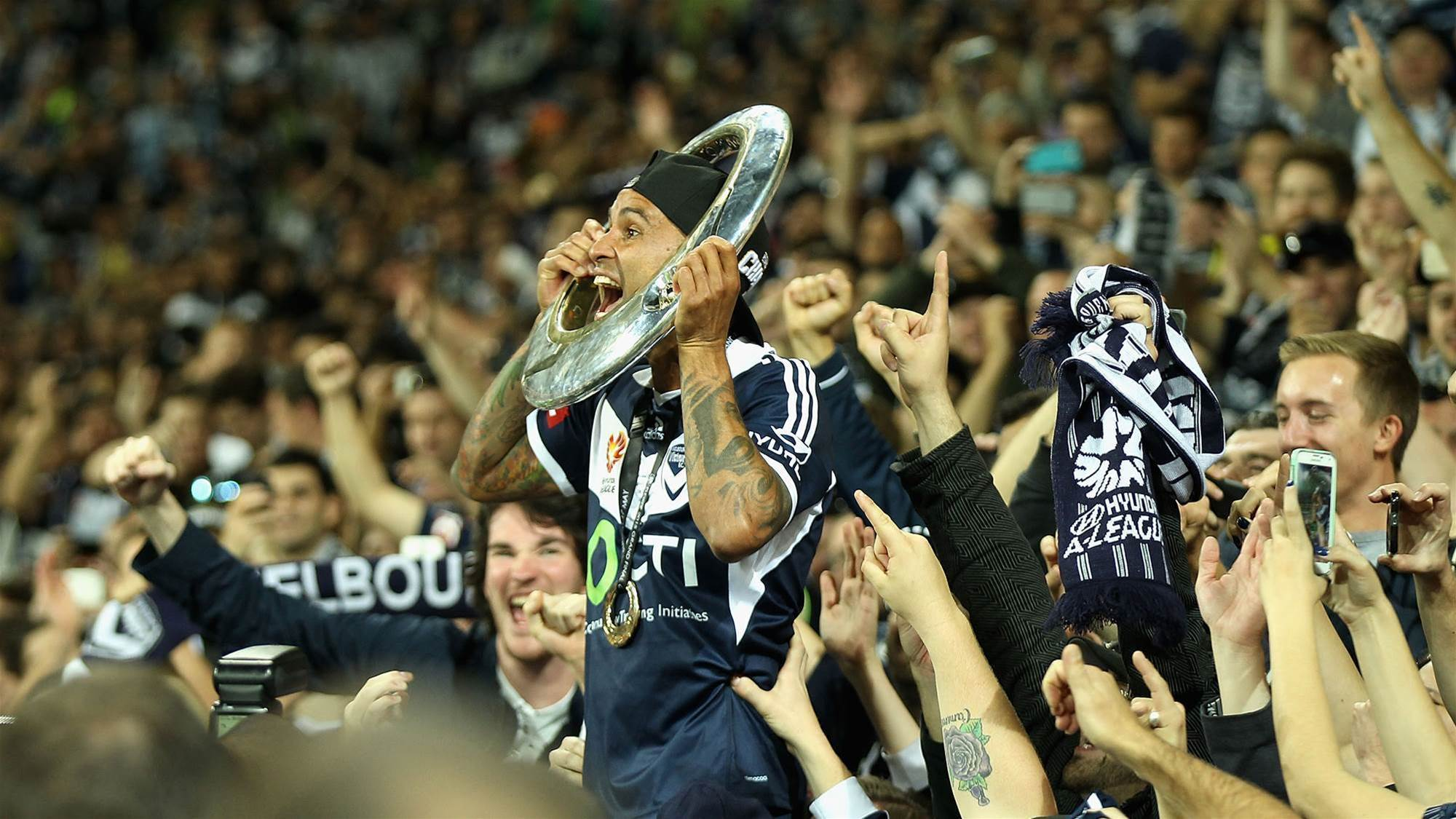 Q&A with Archie Thompson: I bleed blue