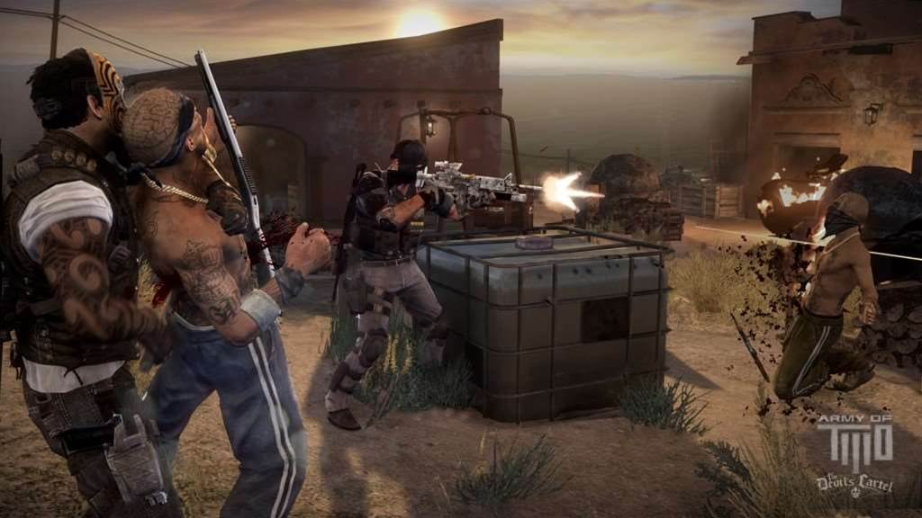 Third R18 video game announced - Army of Two: Devil's Cartel