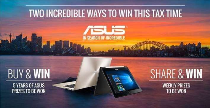 SPONSORED: Enter Asus' awesome tax time competitions!