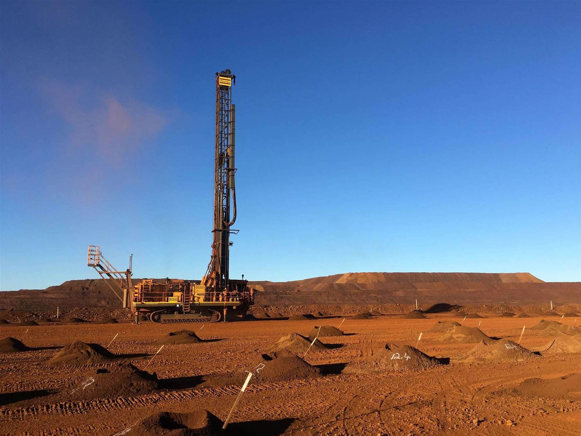 BHP Billiton hits go on autonomous drills