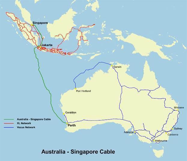 Alcatel-Lucent to build Australia Singapore Cable
