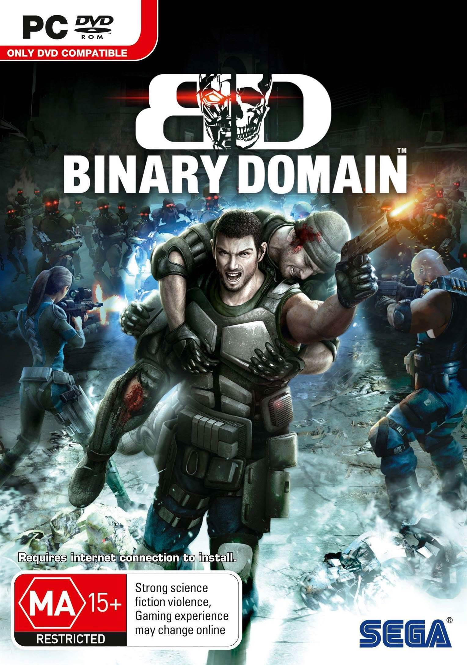 Binary Domain now coming to PC!