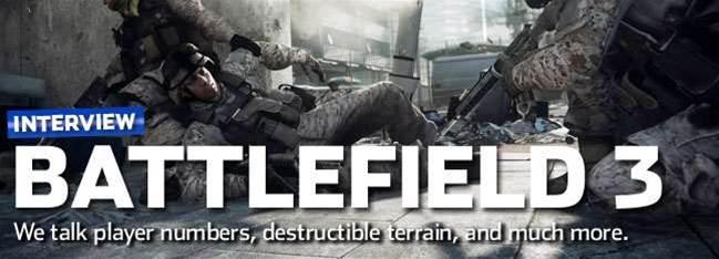 Battlefield 3 interview - 256 players... Please!