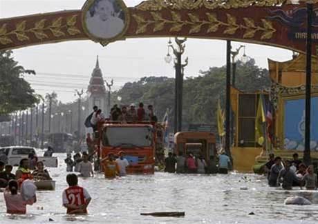 Thailand floods trigger EMC, HP storage price hike