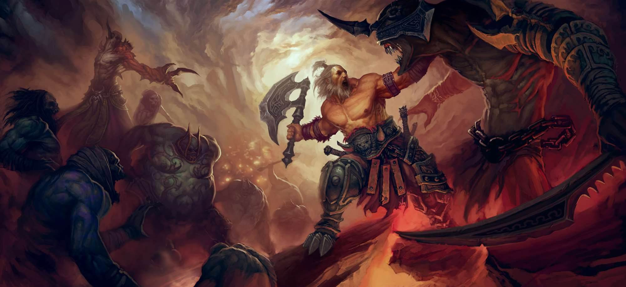 New Diablo III screens show off all the classes in action!