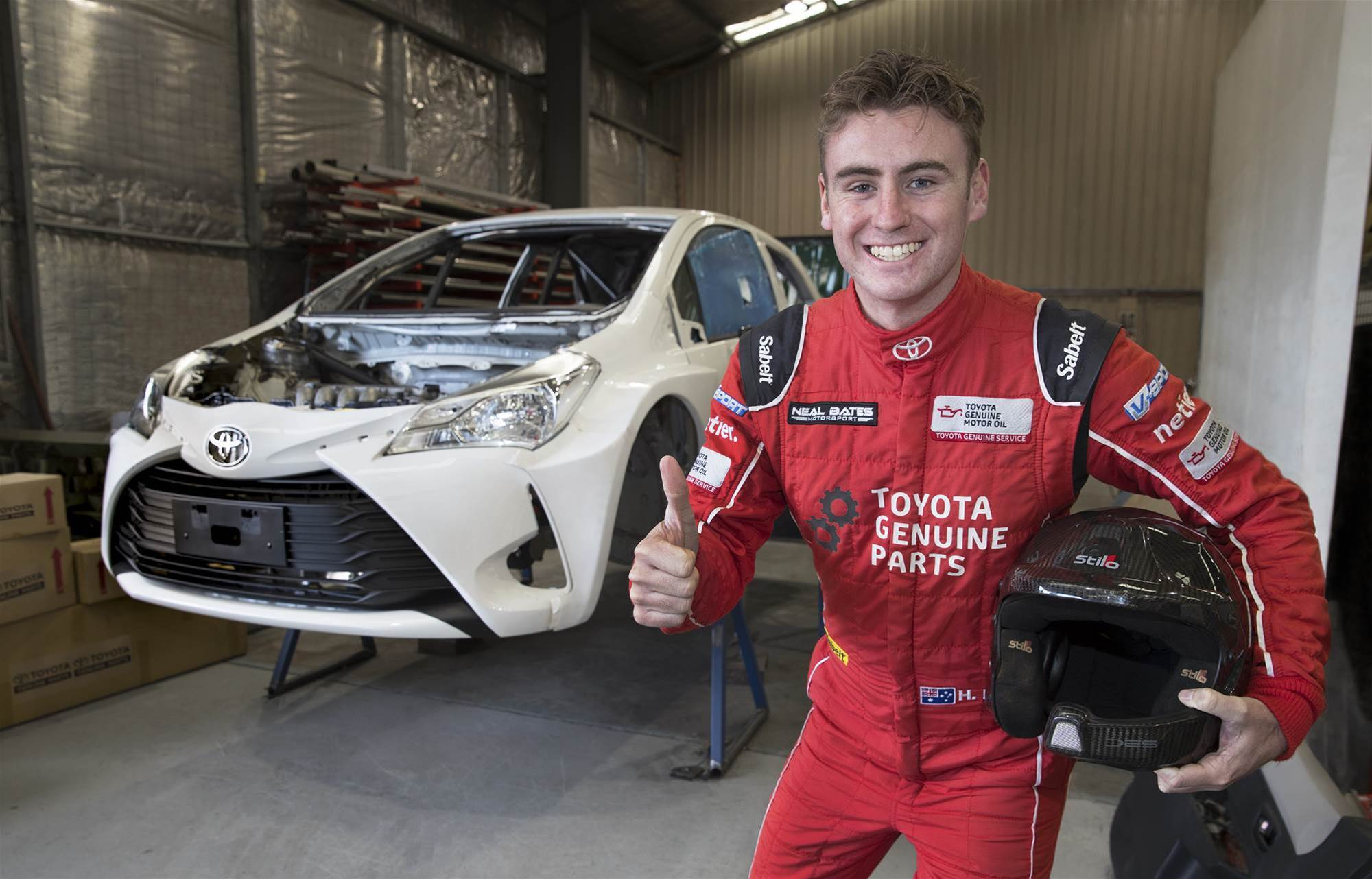New Yaris for Bates' ARC bid