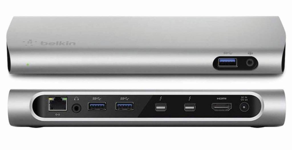 One Minute Review: Belkin Thunderbolt 2 Express Dock HD