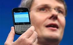 Prefer a keyboard phone? Here's the new BlackBerry Q10
