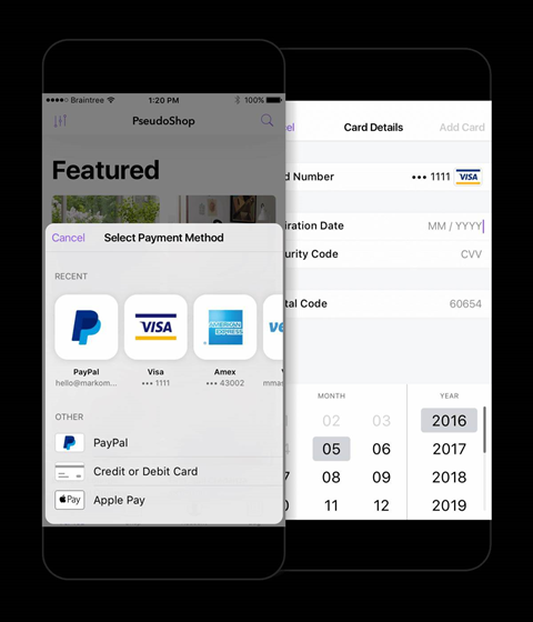 Braintree Direct adds Apple Pay and Android Pay support