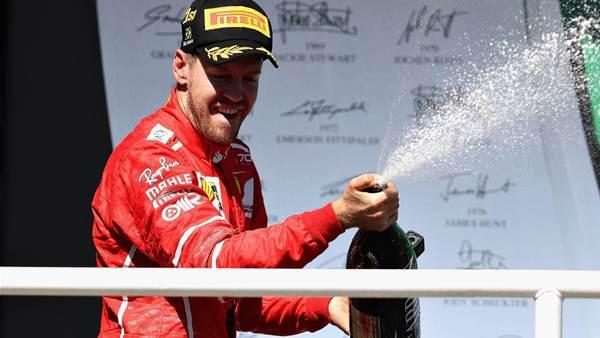 Vettel wins in Brazil