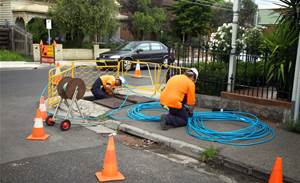 Telstra excuses itself over cut lines for NBN installs
