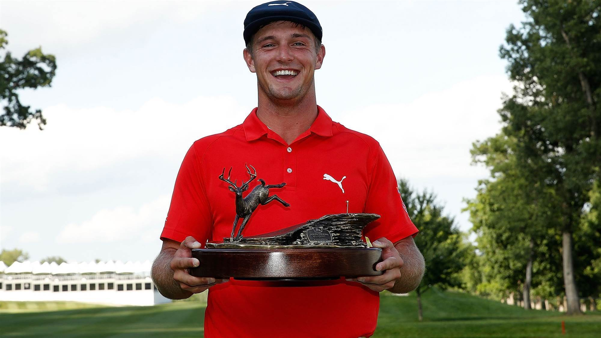 PGA TOUR: Emotional DeChambeau secures maiden victory and final Open spot