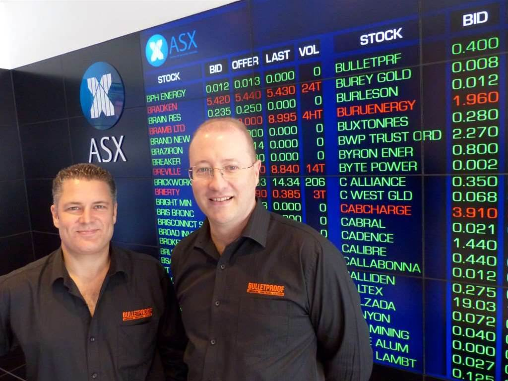 Bulletproof wins new customers during ASX re-listing