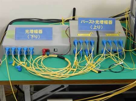 Japanese companies demo 40Gbps passive FTTP tech