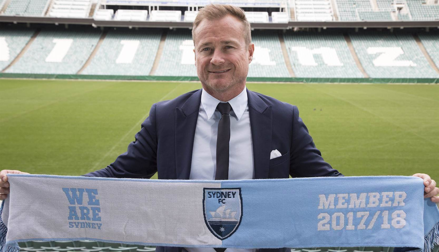 Sydney appoints ex-NSL player as CEO
