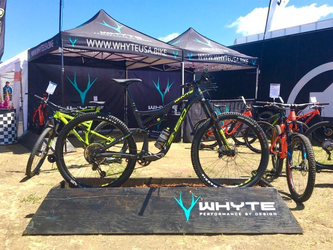 First Look: the Whyte S-150