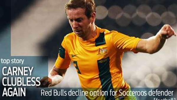 Red Bulls pull the plug on Carney