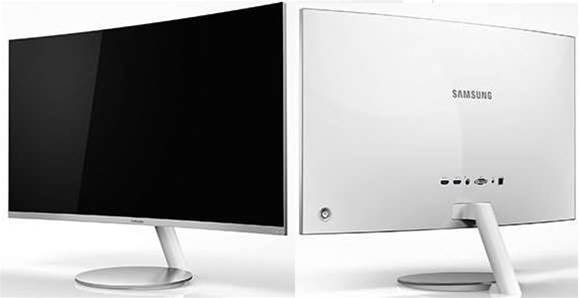 Samsung reveals new curved monitors