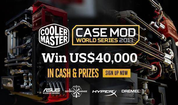 Cooler Master launches Case Mod World Series 2017