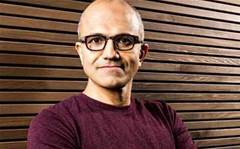 Nadella points to Office, CRM after Nokia hit