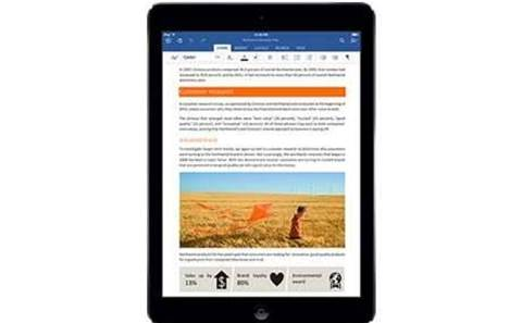 Office for iPad: 12m downloads but poor reviews
