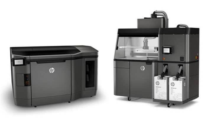 HP launches 3D printer