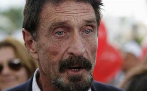 John McAfee named CEO of tech investment house