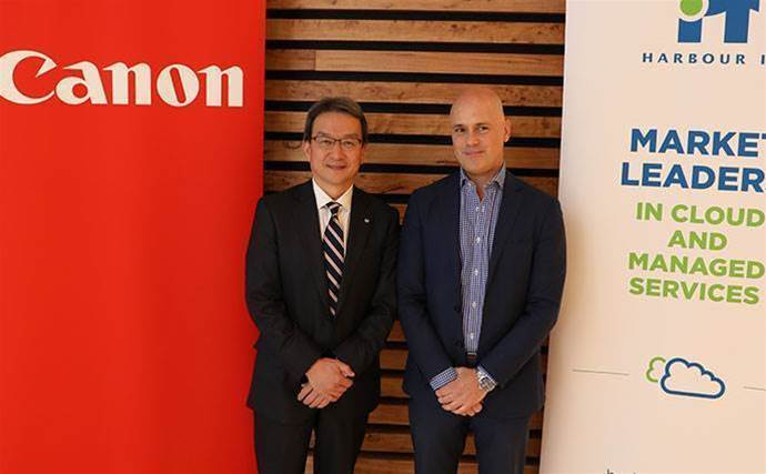 Canon completes multimillion-dollar Harbour IT deal