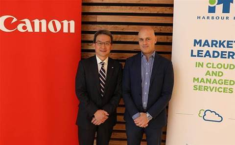 Canon completes multimillion-dollar Harbour IT deal
