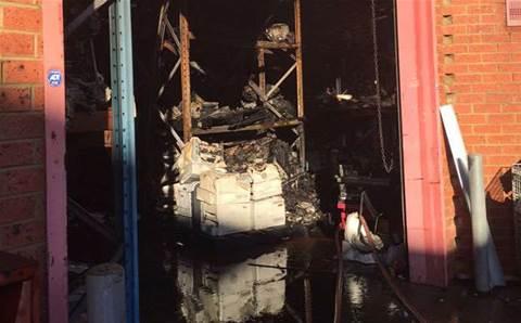 Fire strikes Melbourne printing reseller