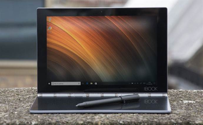 Meet the Lenovo Yoga Book, the weirdest laptop of 2016