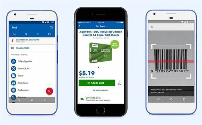 Officeworks taps Outware Mobile for iOS and Android app