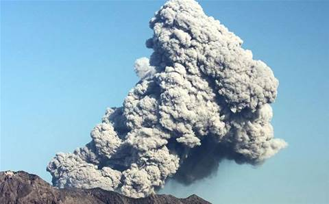 Top Aussie IT execs caught up in cloud. Volcanic ash cloud