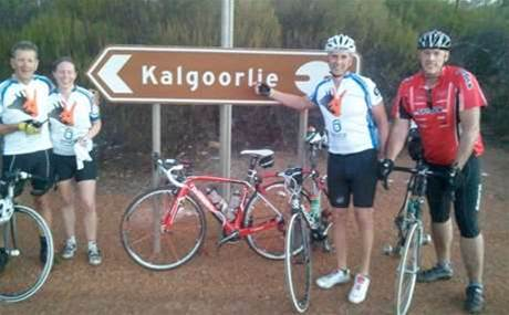 IT chiefs riding 4,200km from Perth to Sydney