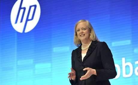 HP posts sales drop as it preps for split