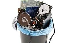 Personal data on dumped hard drives