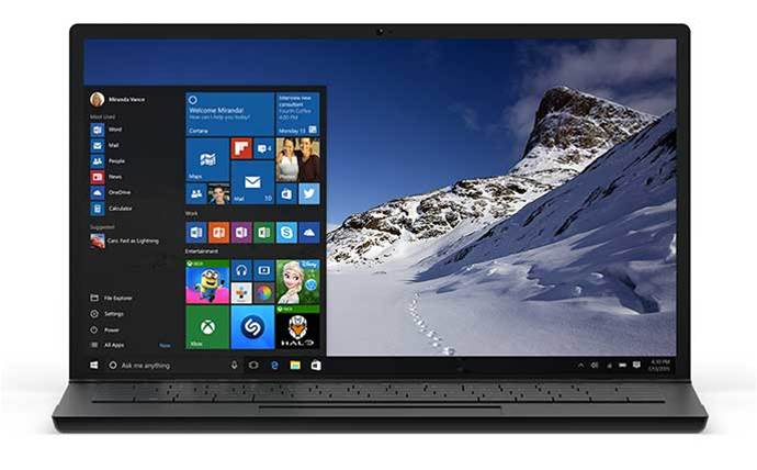 Microsoft reveals launch date for Windows 10