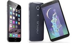 Head-to-head: Apple iPhone 6 Plus vs Google Nexus 6