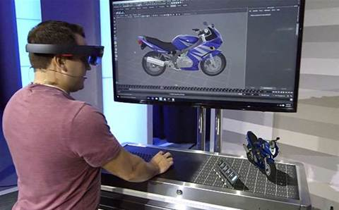 HoloLens wows thousands of Microsoft partners