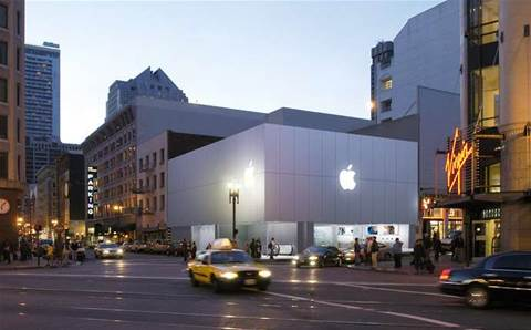 Apple unveils new store design in San Francisco