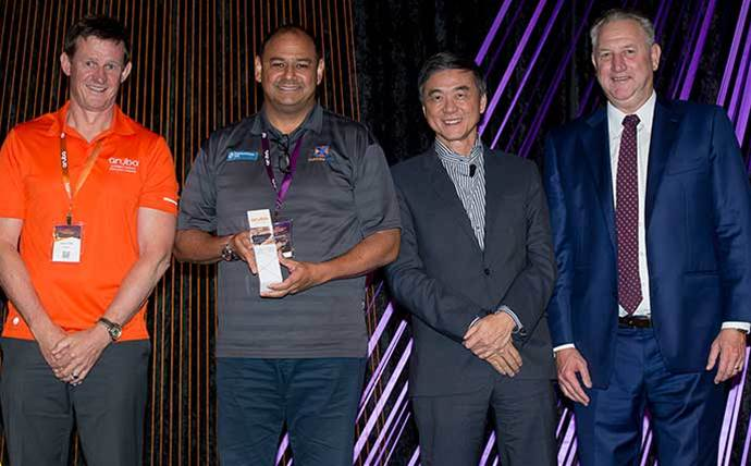 Aruba honours top Sydney network integrator