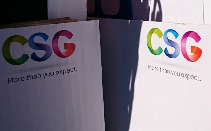 CSG writes down $55 million from print business