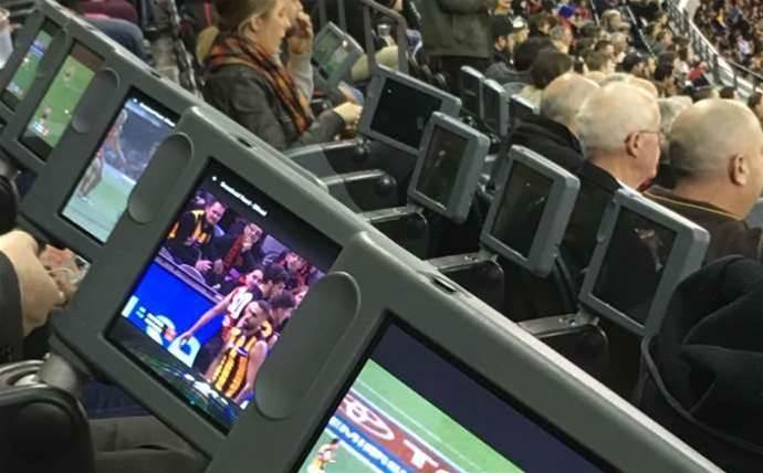 Telstra and Samsung deploy 1000 seatback tablets for Etihad Stadium