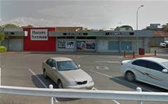 Fire strikes a Harvey Norman store in Queensland