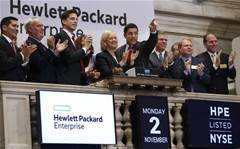 Ingram chief joins HP's Meg Whitman to ring NYSE bell