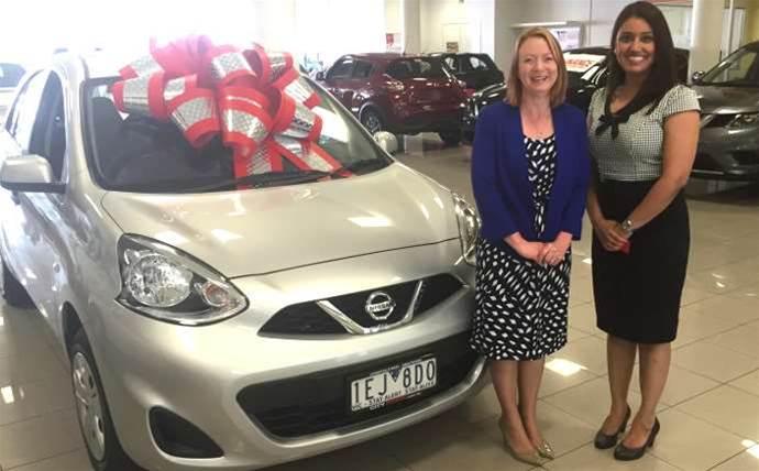 Melbourne reseller staffer wins new car