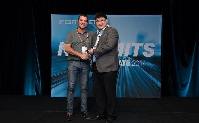 Telstra wins Fortinet award